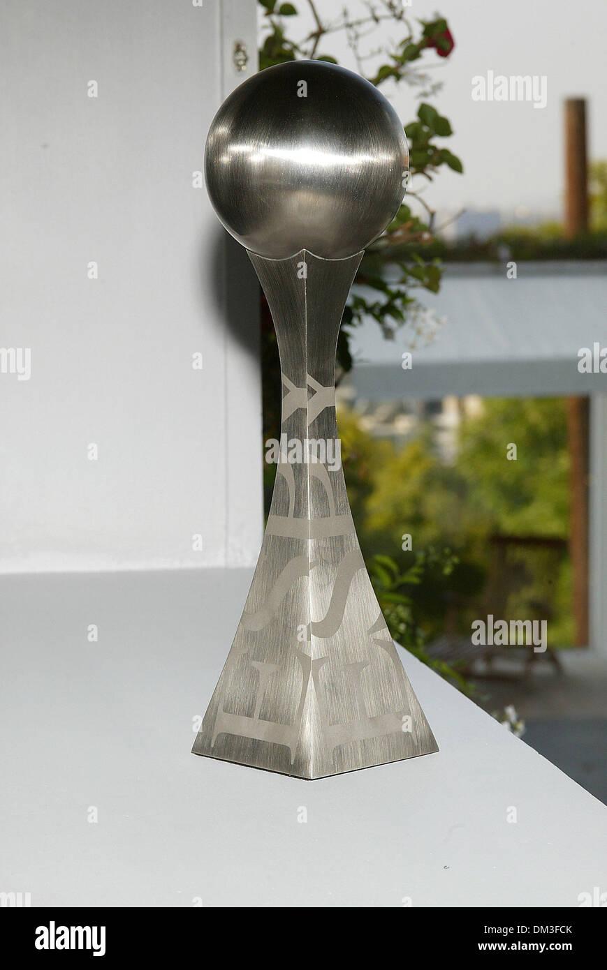 4 juin 2002 - Los Angeles, Californie - 10ÈME ESPY awards NOMINATIONS.EU LIEU AU SKYBAR DANS L'hôtel Mondrian.À LOS ANGELES, CA.L'ESPY AWARD. BARRETT FITZROY / 6-4-2002 K25032FB (D)(Image Crédit: © Globe Photos/ZUMAPRESS.com) Banque D'Images