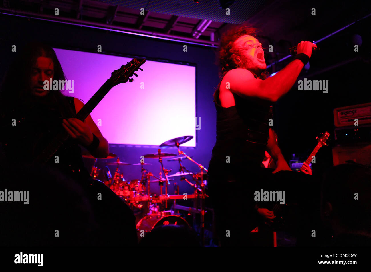 Blackguard sur scène l'exécution Photo Stock