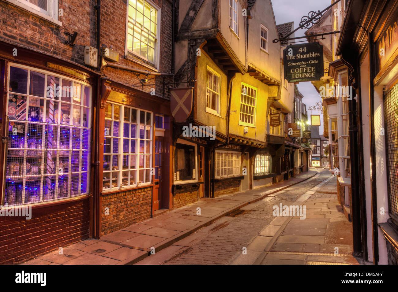 York Shambles Photo Stock