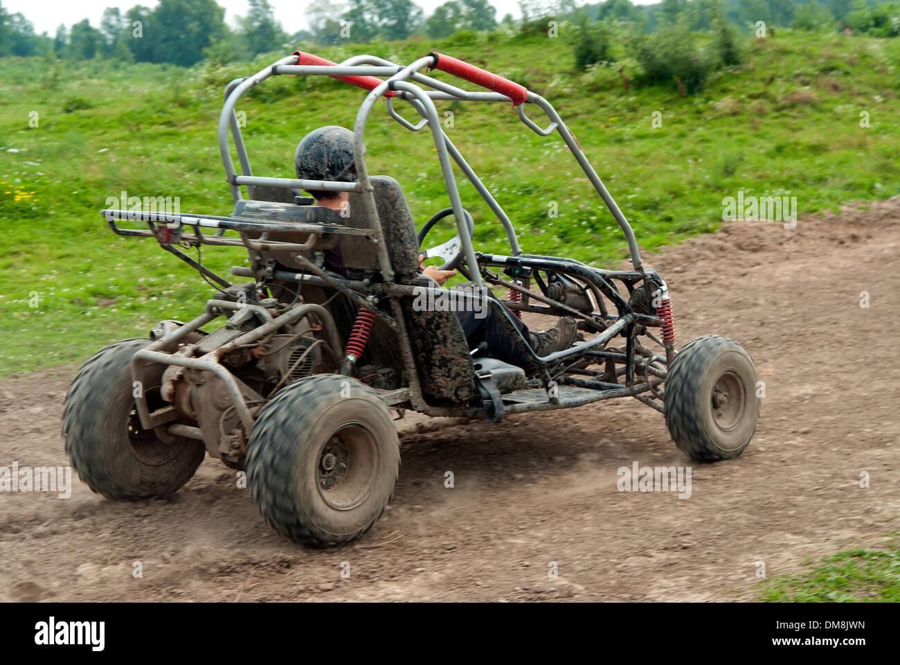 Buggy, véhicule tout-terrain, Canada Photo Stock