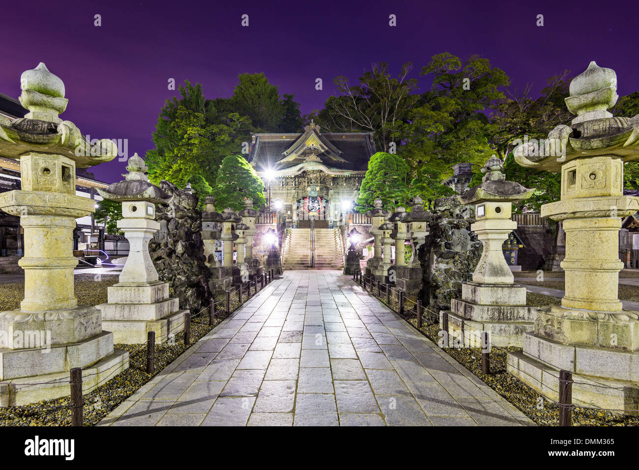 Sanctuaire de Narita de Narita, au Japon. Photo Stock