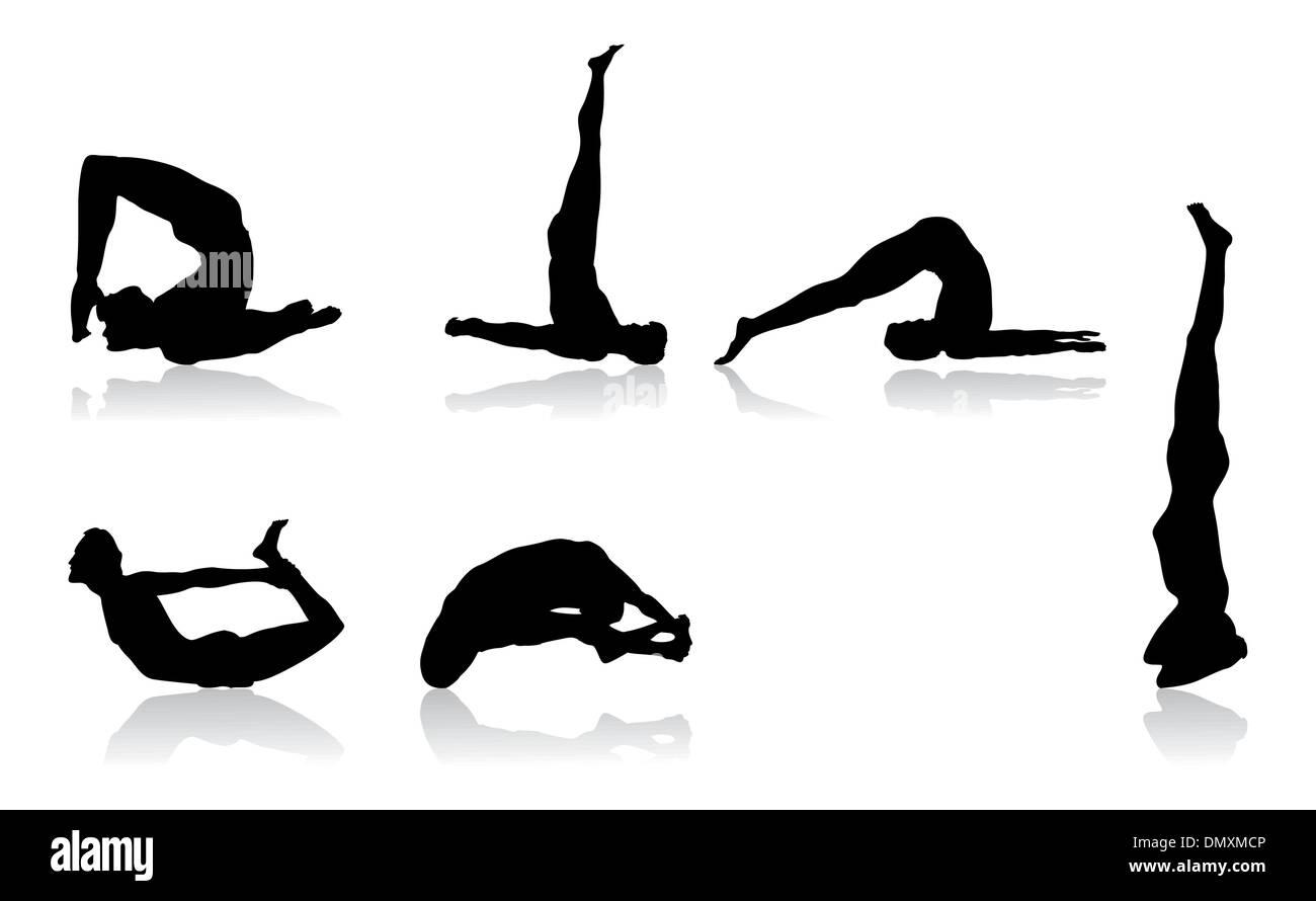 Flexibilité Photo Stock