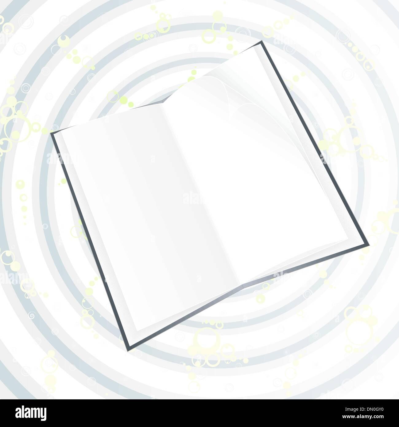 Livre Noir Sur Blanc Les Cercles Magiques Vecteurs Et