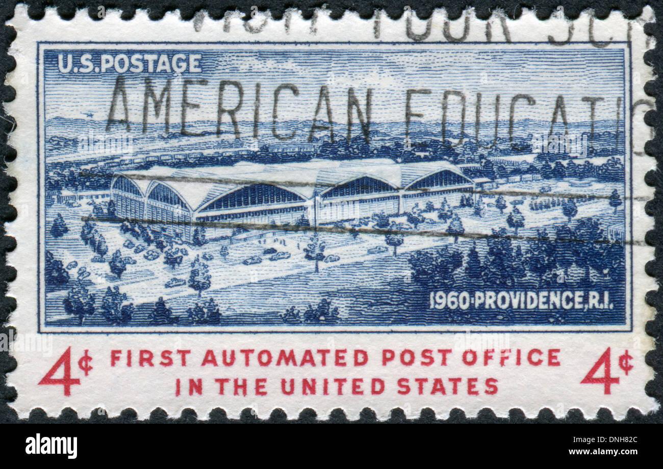 Dédié à Louverture De La 1ère Dans Le Bureau De Poste Automatisé