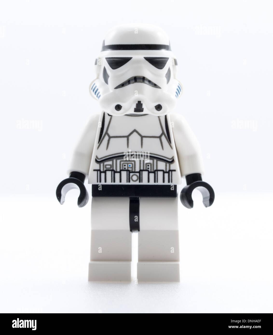 Lego Star Wars Stormtrooper Jouets Playmobil - 5116 - Moto Photo Stock