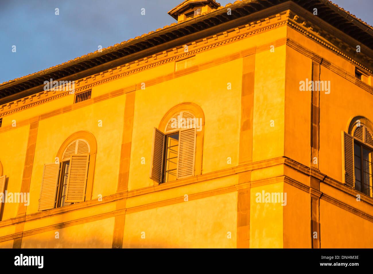 Portrait d'un édifice du patrimoine, Sienne, Province de Sienne, Toscane, Italie Banque D'Images