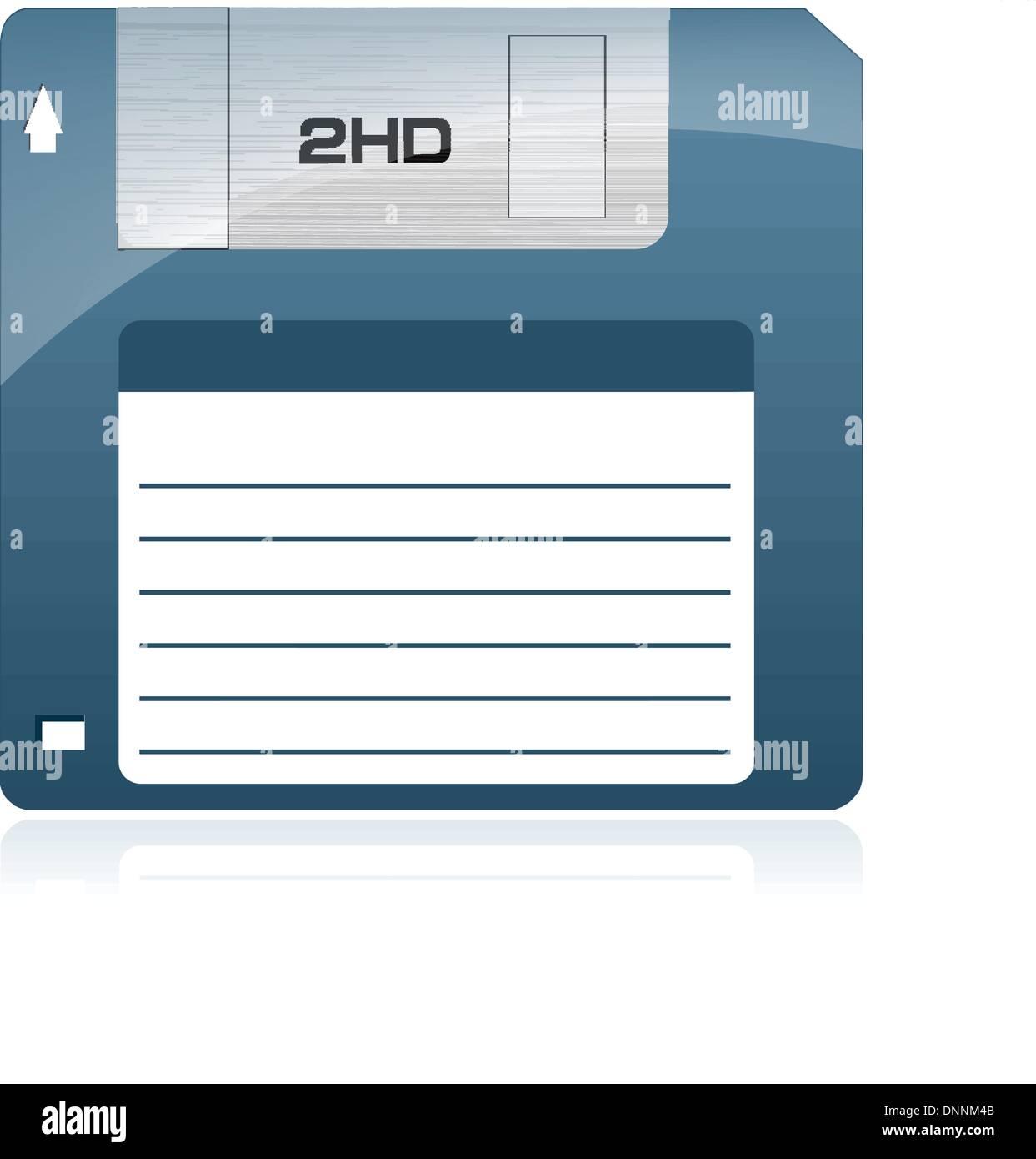 Lecteur de disquette Photo Stock