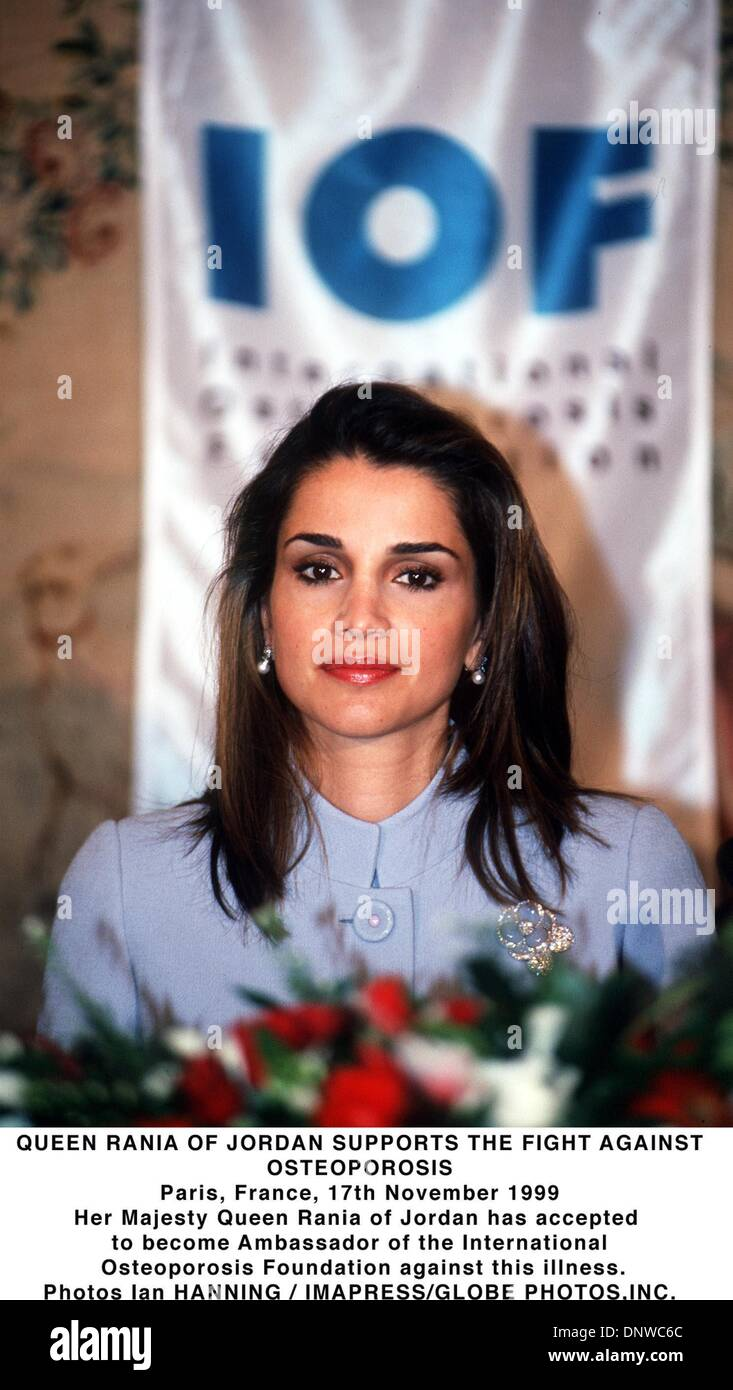Queen Rania Of Jordan Banque D Image Et Photos Alamy