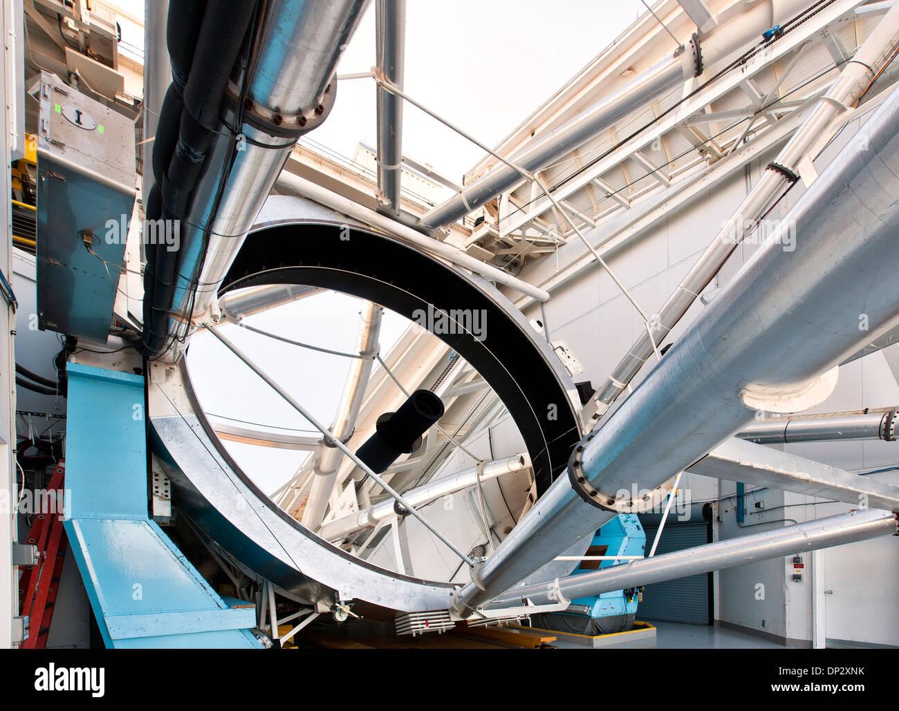 Miroir optique de 6,5 m de l'Observatoire, le TEM Photo Stock