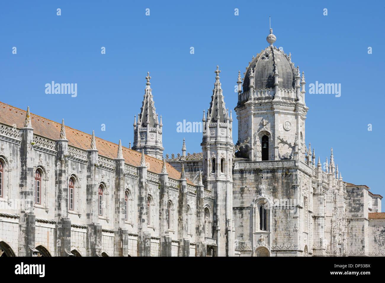Monastère des Hiéronymites, UNESCO World Heritage Site, Belém, Lisbonne, Portugal Banque D'Images