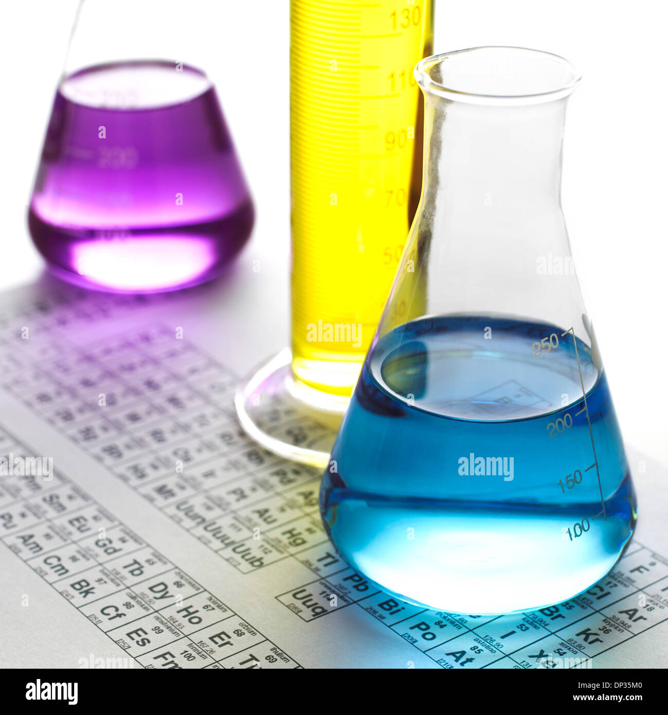Chemical research, conceptual image Photo Stock