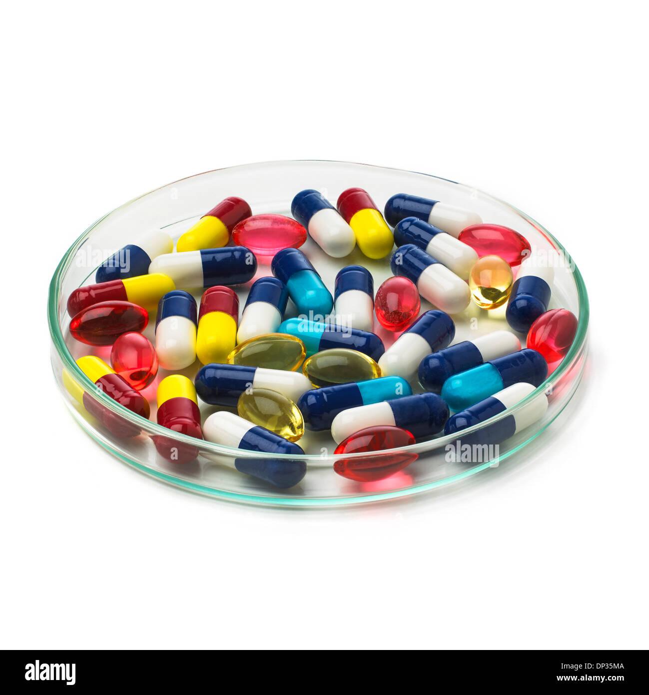 La recherche pharmaceutique, conceptual image Photo Stock