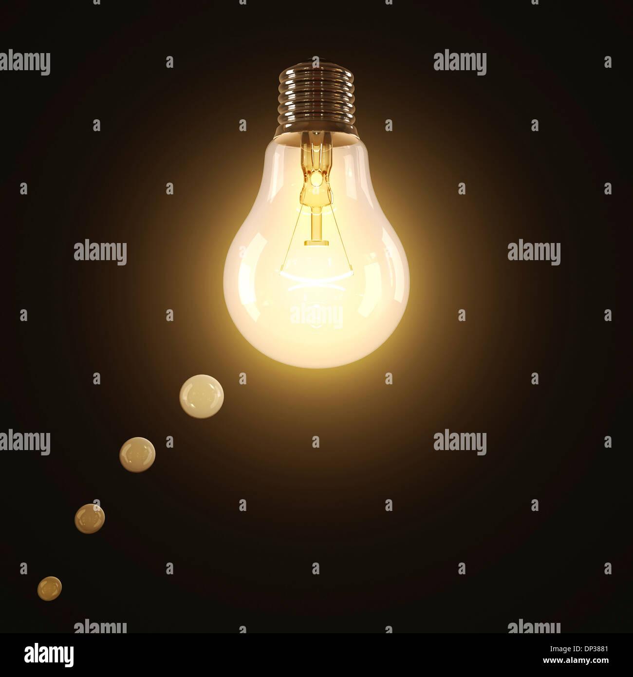 La créativité, conceptual artwork Photo Stock