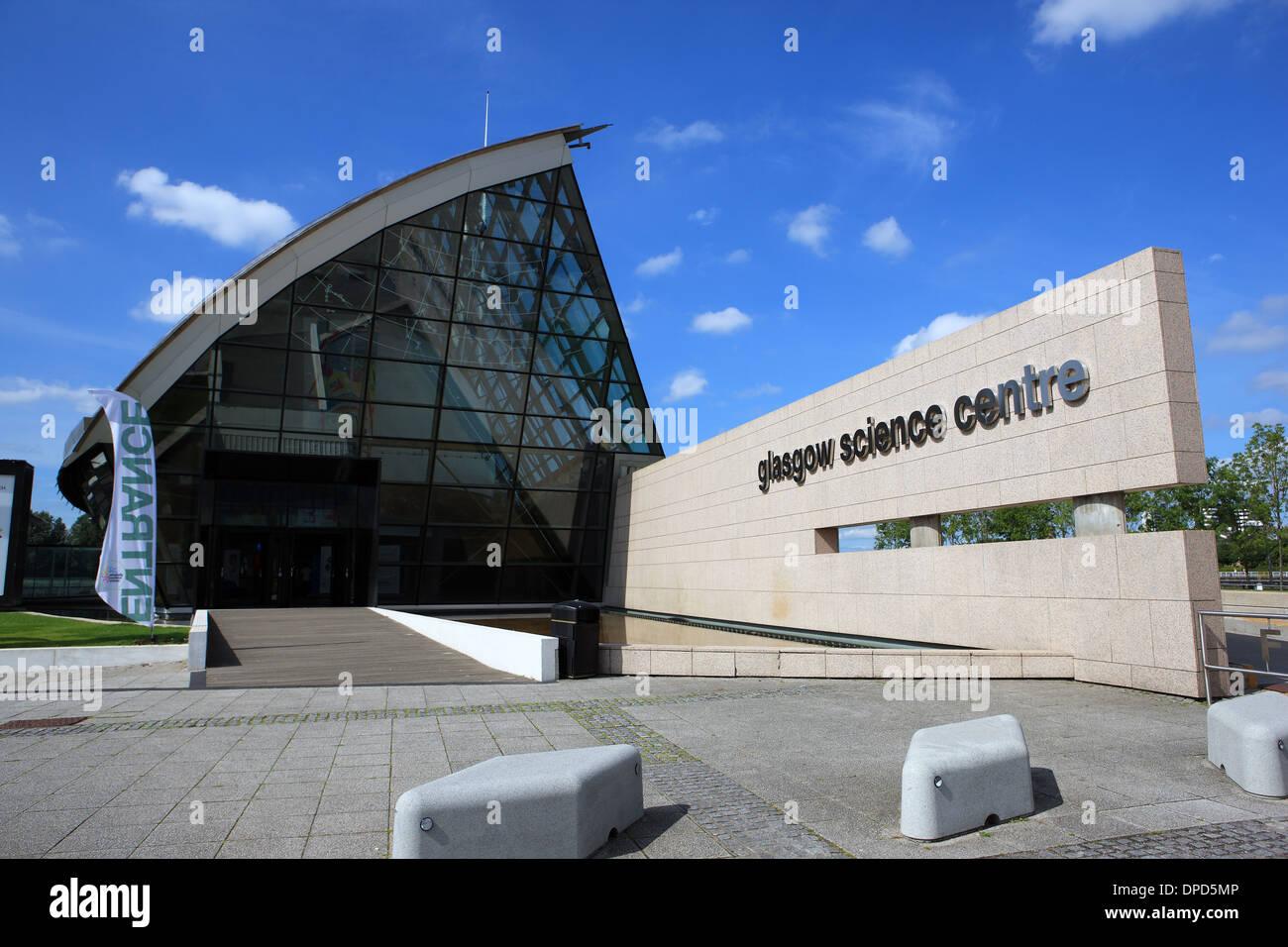 Centre des sciences de Glasgow en Ecosse UK Banque D'Images