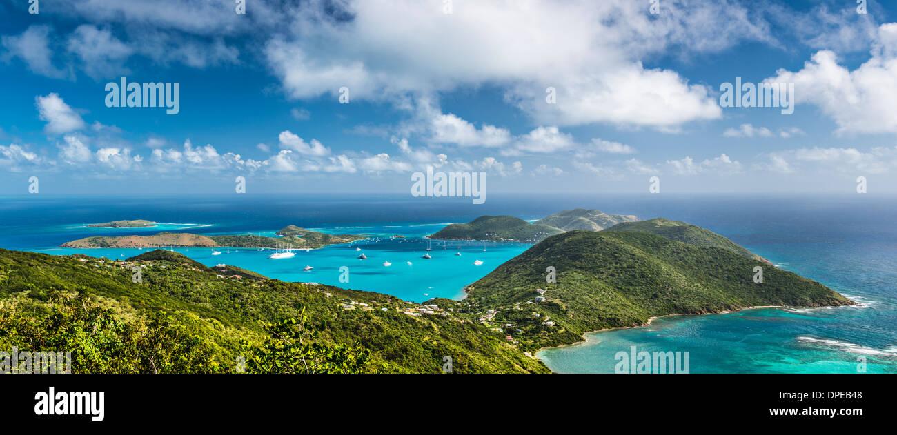 Virgin Gorda dans les îles Vierges britanniques des Caraïbes. Photo Stock