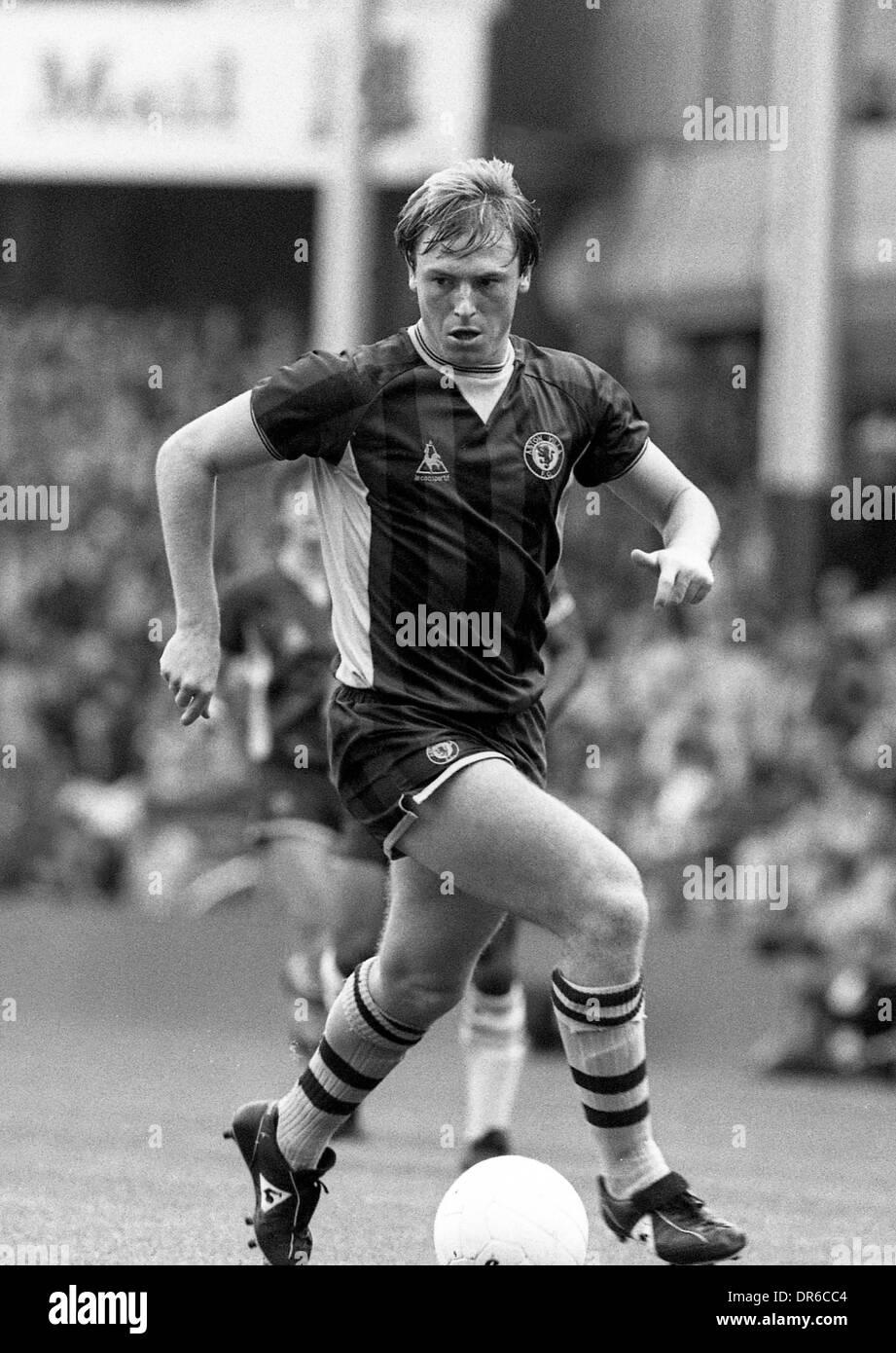 Steve McMahon football Aston Villa 24/9/1983 Photo Stock