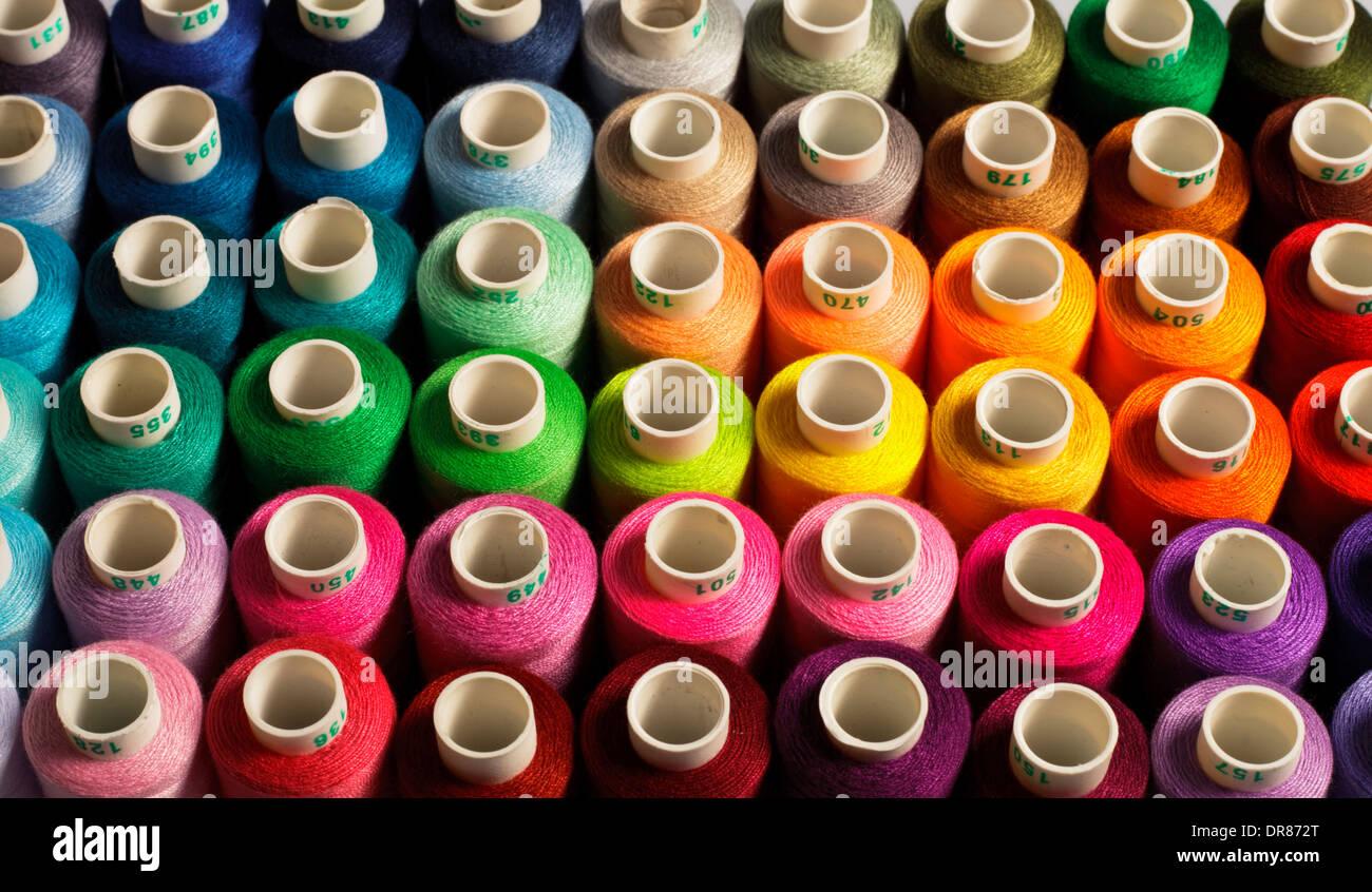Arrière-plan de couture Photo Stock