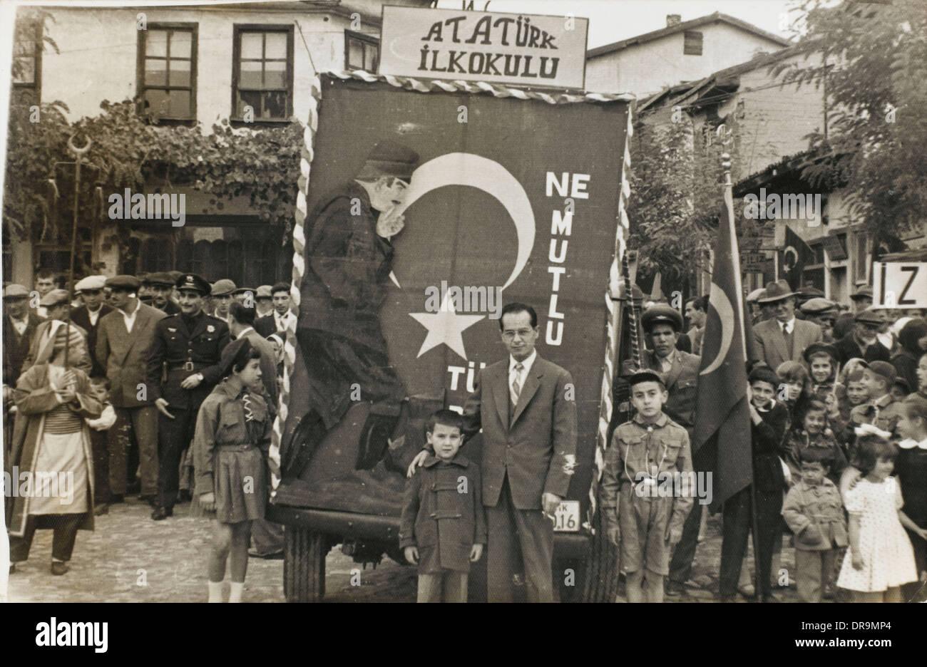 L'école primaire d'Ataturk Photo Stock