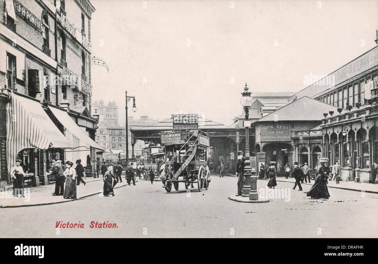 La gare de Victoria Photo Stock