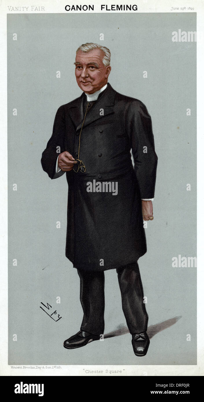 Fleming Canon, Vanity Fair, Spy Photo Stock