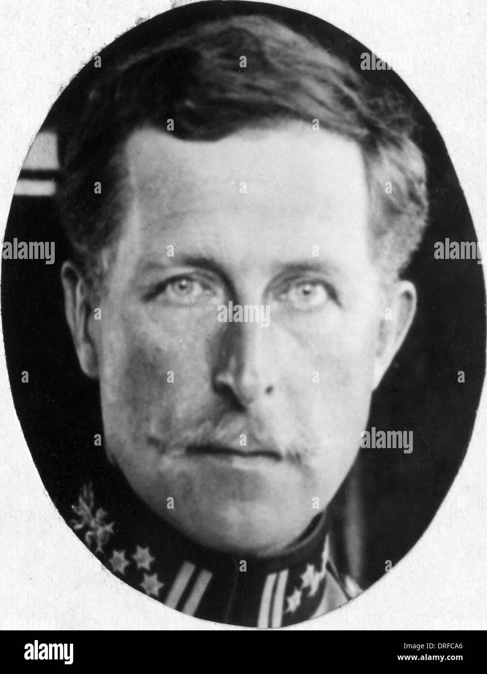 Albert Ier de Belgique Photo Stock