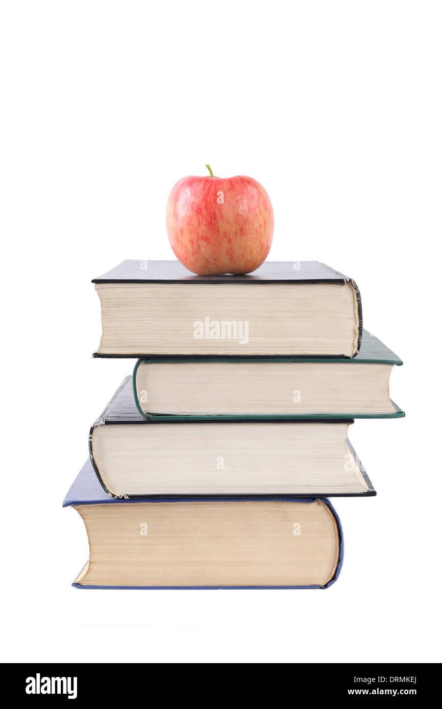 Les livres sont des éléments nutritifs de l'humanité Photo Stock