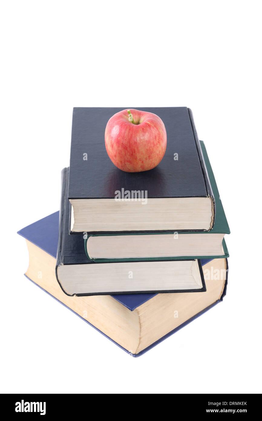 Les livres sont l'élément nutritif Photo Stock