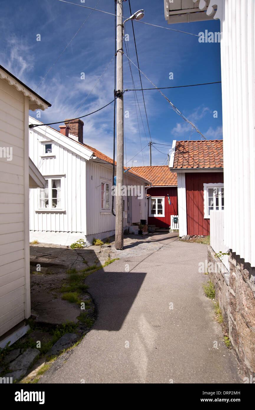 Gullholmen à Schweden Banque D'Images