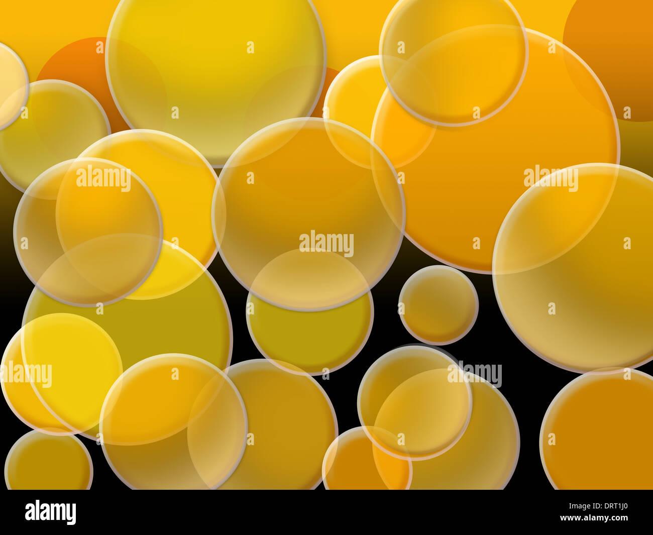 Cercles magiques Photo Stock