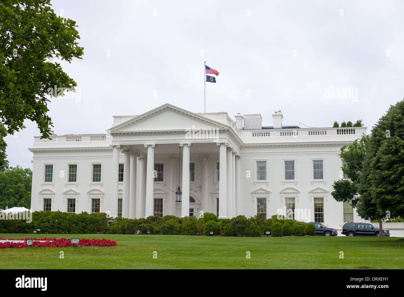 La maison blanche à washington d c accueil du président des états unis d amérique