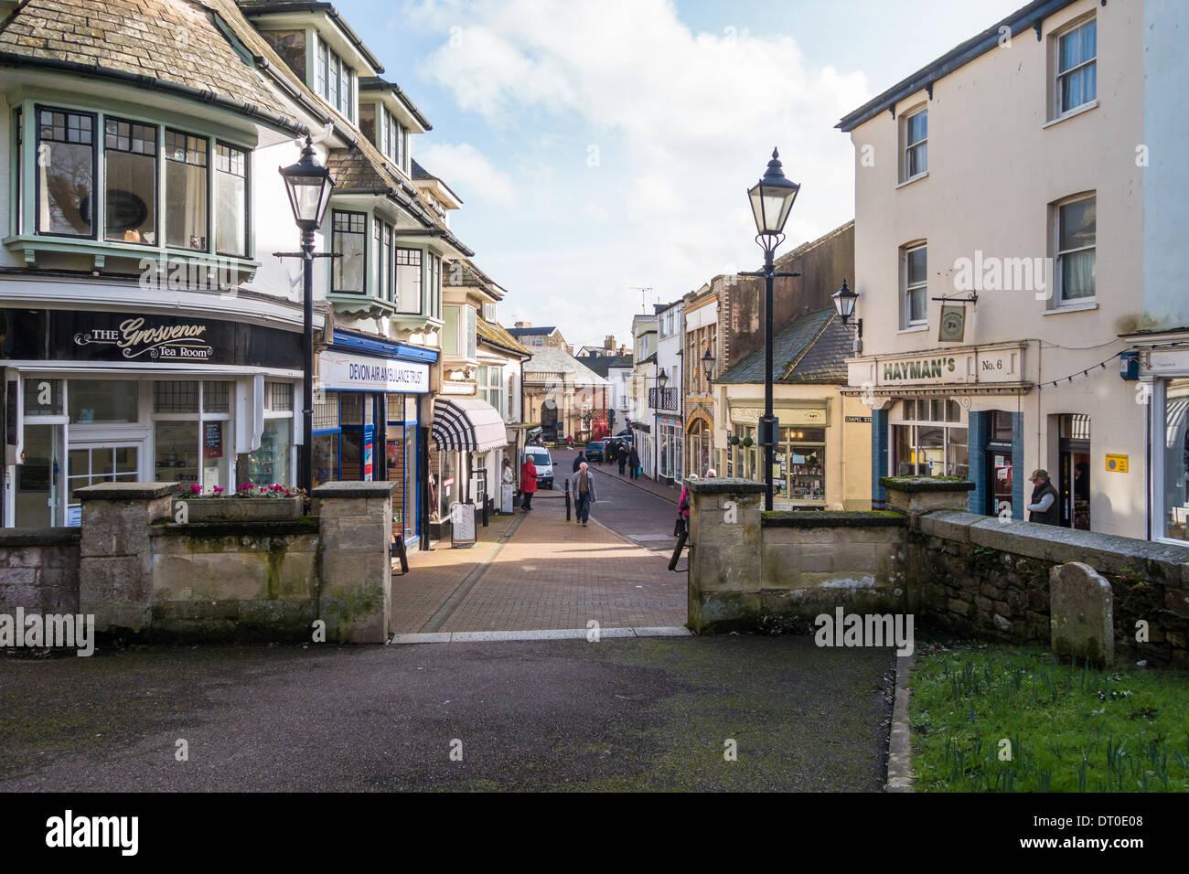 df62fac4575 La ville de Sidmouth