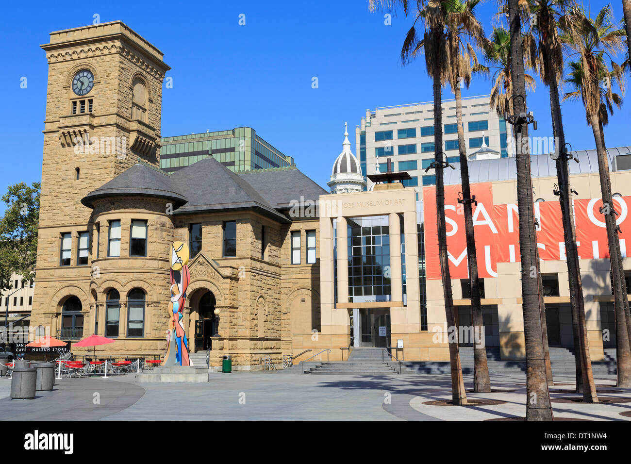 Musée d'Art, San Jose, Californie, États-Unis d'Amérique, Amérique du Nord Photo Stock