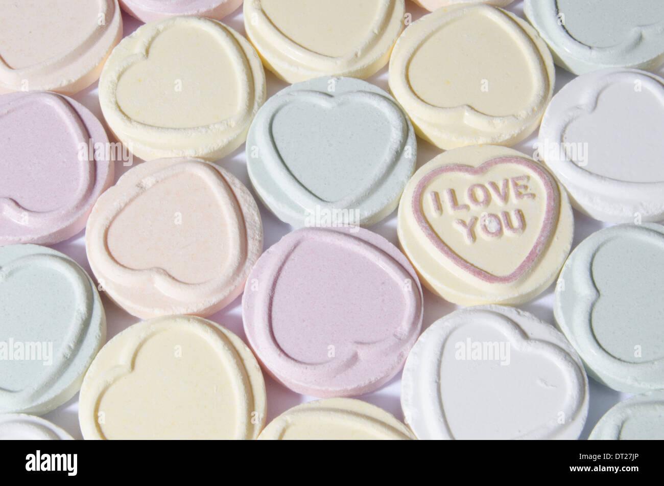 Love Hearts Photo Stock