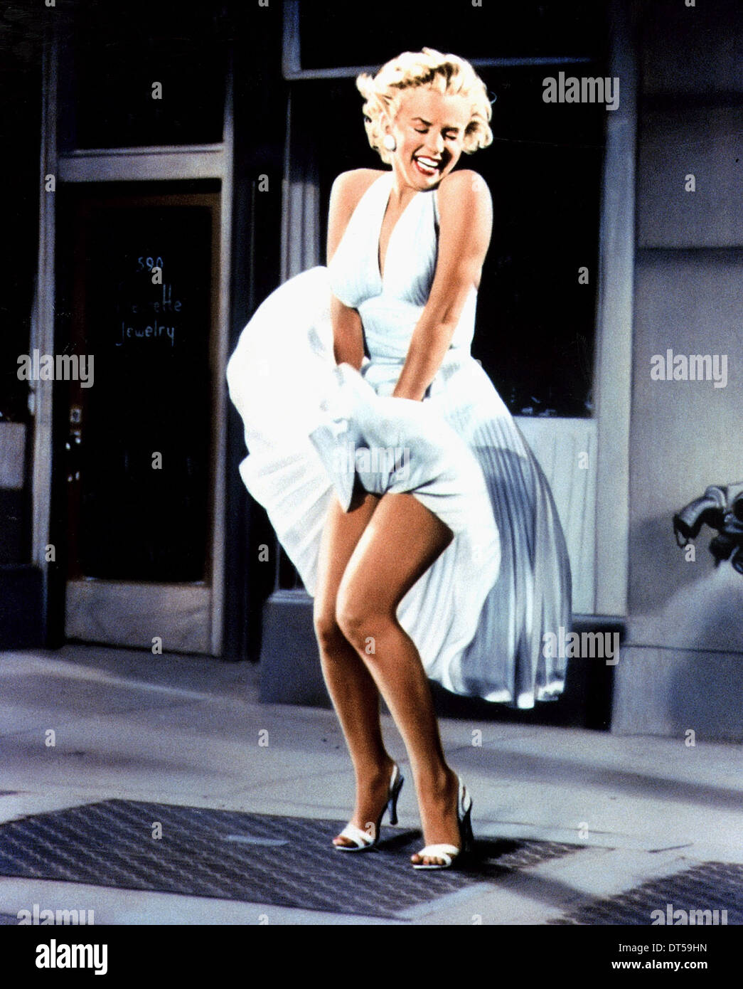 MARILYN MONROE LES SEPT ANS ITCH (1955) Photo Stock