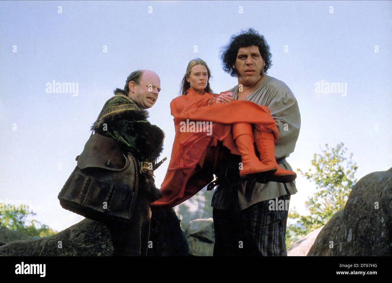 WALLACE SHAWN, Robin Wright Penn, André le Géant, LE PRINCESS BRIDE, 1987 Banque D'Images