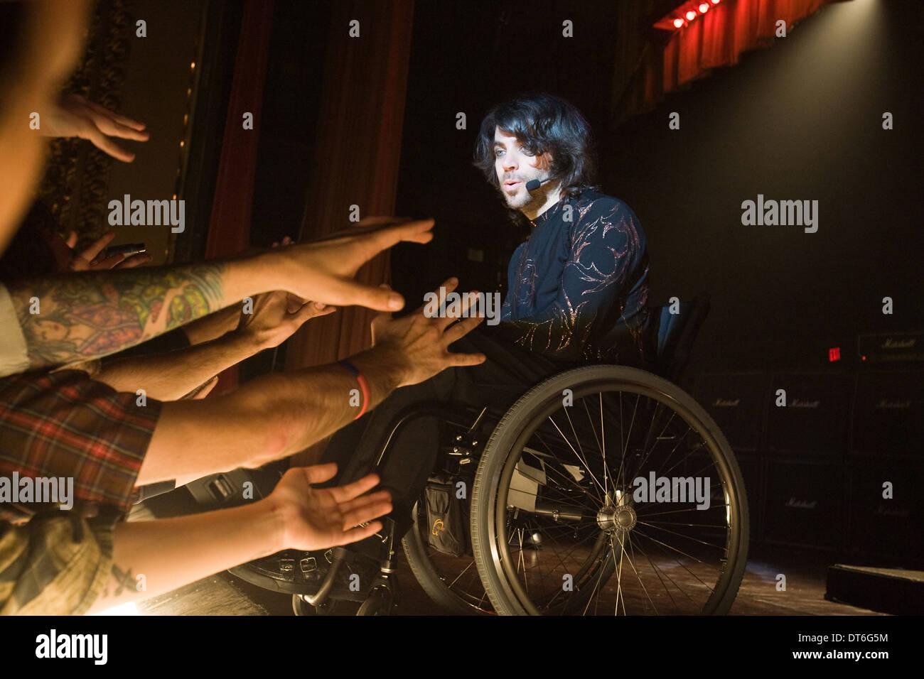 CHRISTOPHER THORNTON SYMPATHIE POUR DELICIOUS (2010) Photo Stock