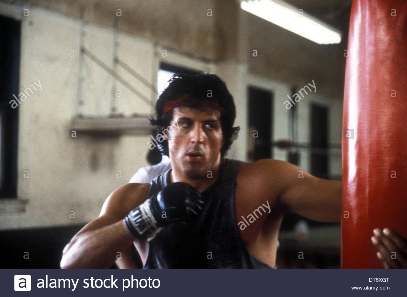 SYLVESTER STALLONE ROCKY II (1979) Photo Stock