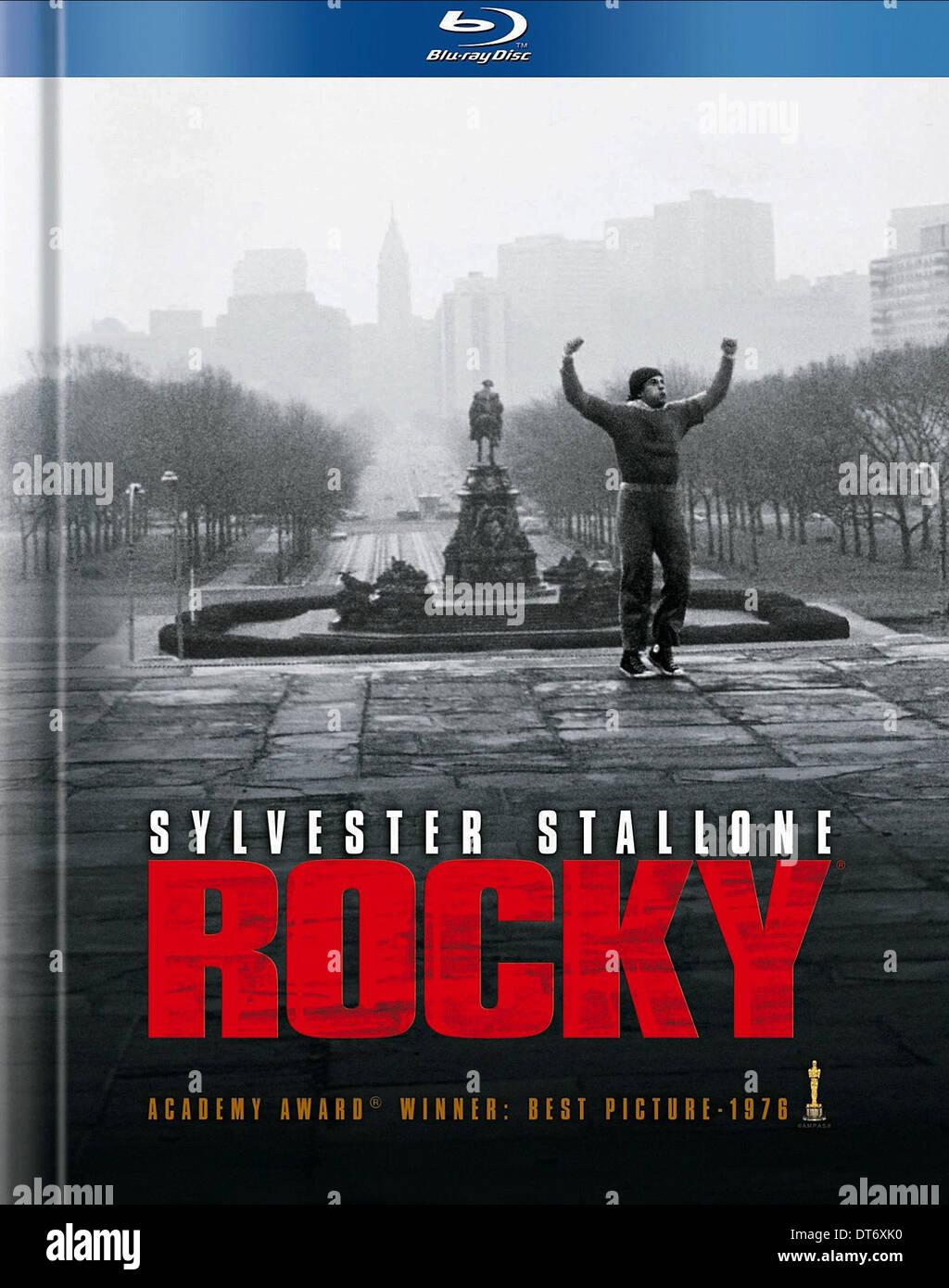 Affiche de film Rocky (1976) Photo Stock