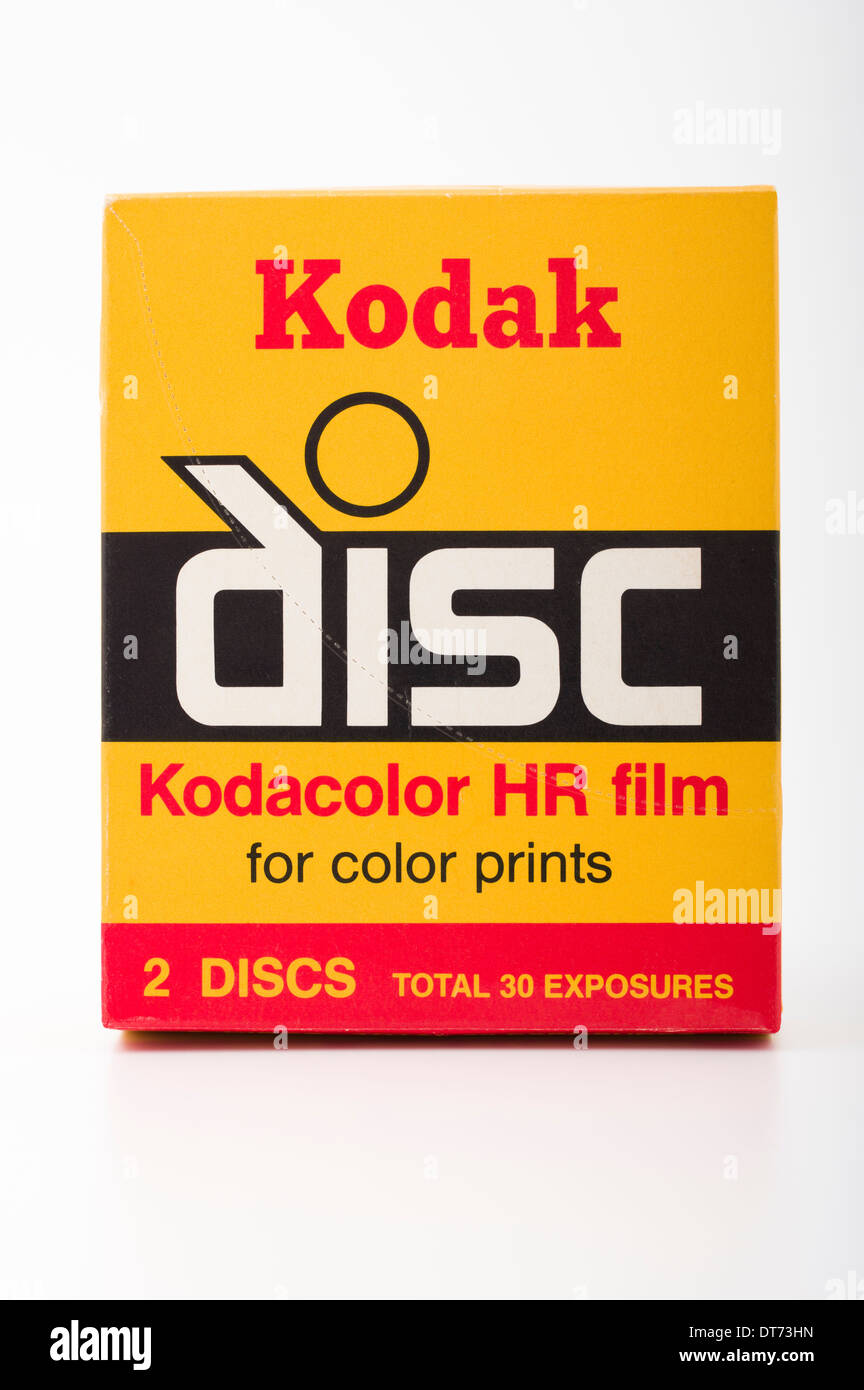 Film de l'appareil photo Kodak disc Photo Stock