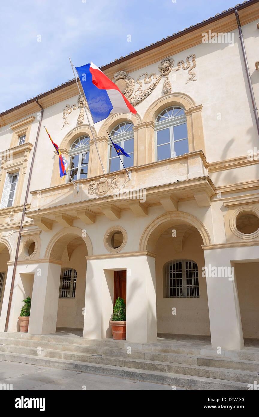 Hôtel de ville, Saint Remy-de-Provence, Bouches-du-Rhône, Provence-Alpes-Côte d'Azur, dans le sud de la France, France Photo Stock