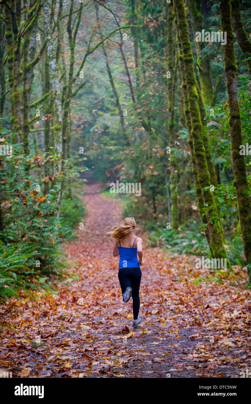 Jogging fille Photo Stock