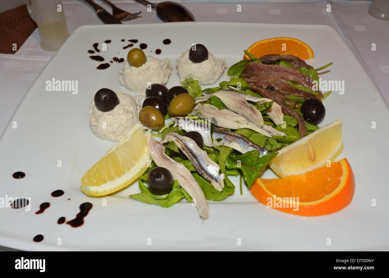 Un plat croate, Zagreb Photo Stock
