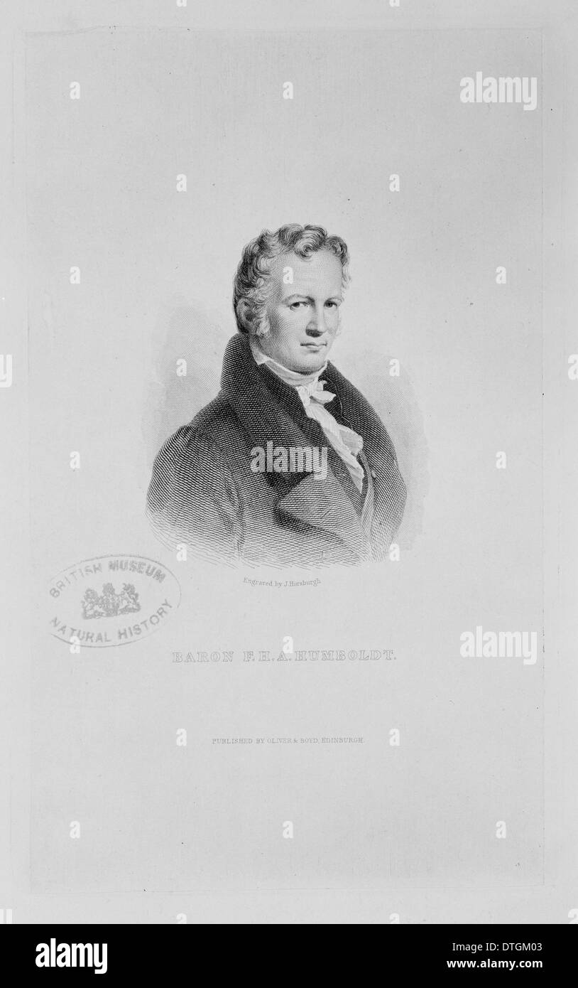 Alexander von Humboldt (1769-1859) Photo Stock