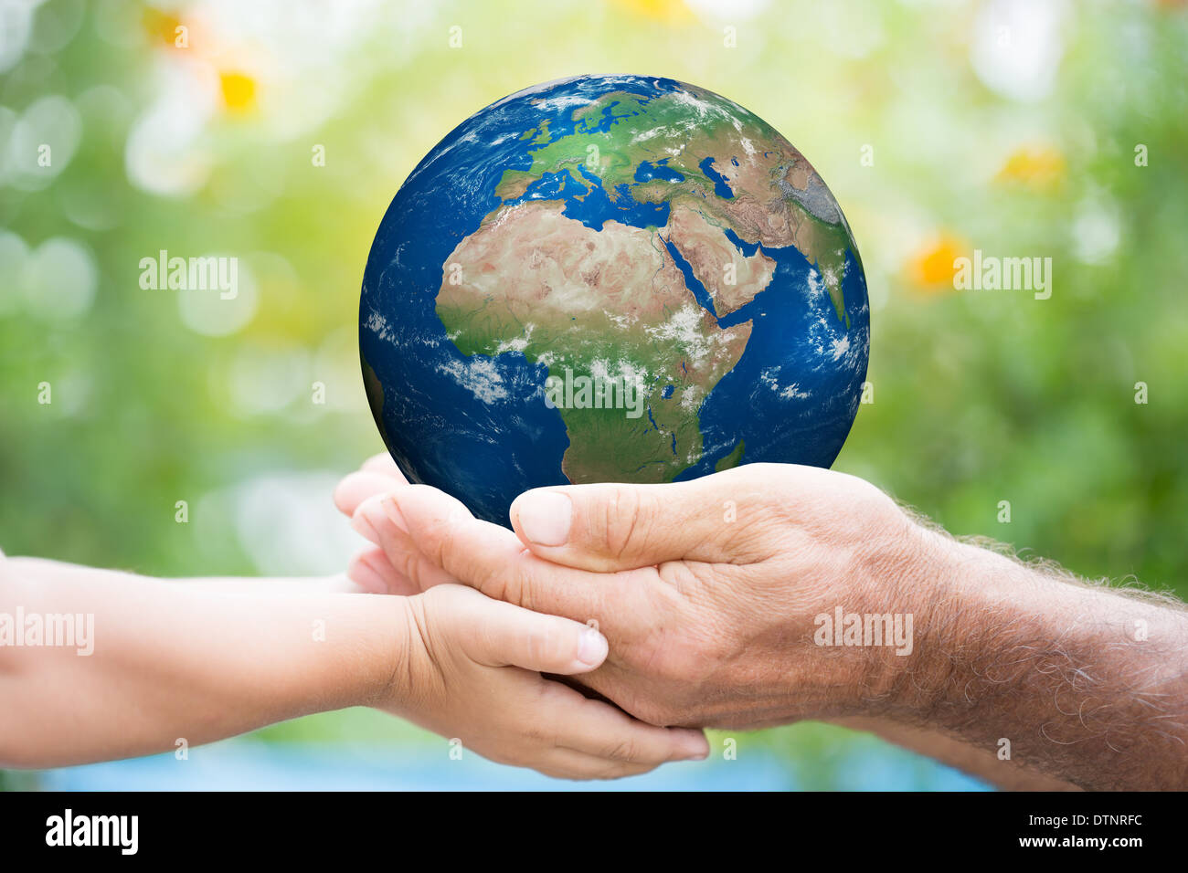 Journée de la terre Photo Stock