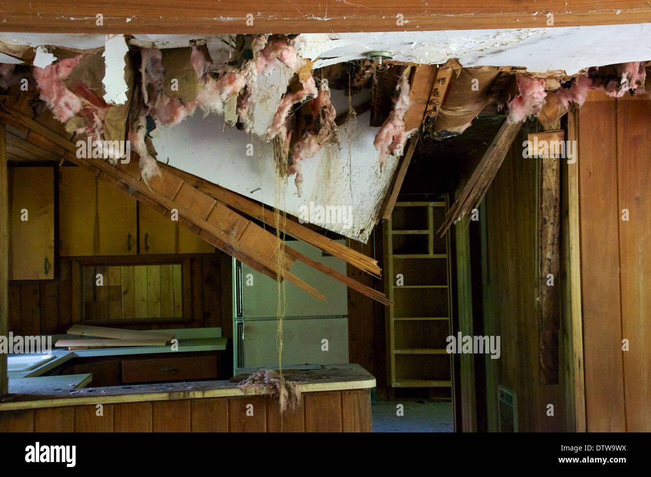 Maison Bois Avis avis d'une vieille cuisine en bois abandonnés dans la maison