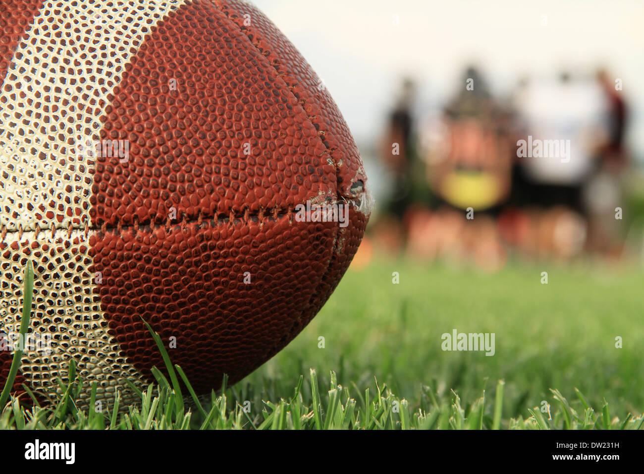 Le football américain Photo Stock