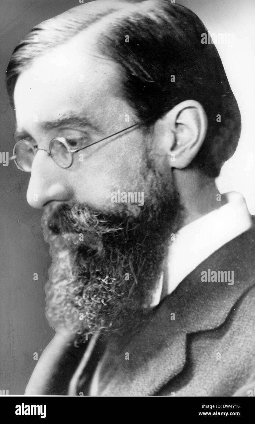 LYTTON STRACHEY (1880-1932) écrivain et critique anglais vers 1915 Banque D'Images