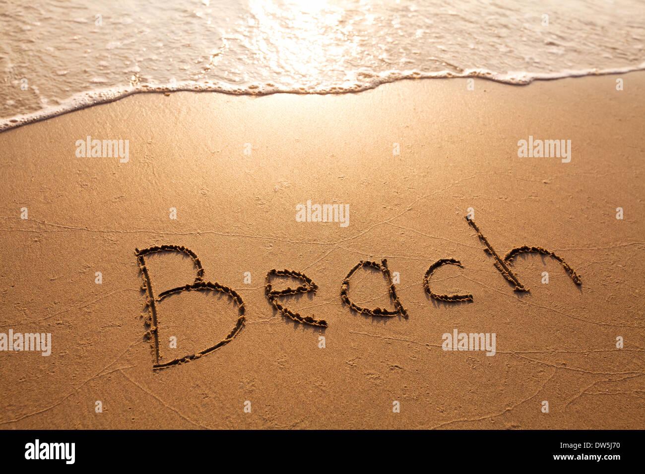 concept du Beach Photo Stock