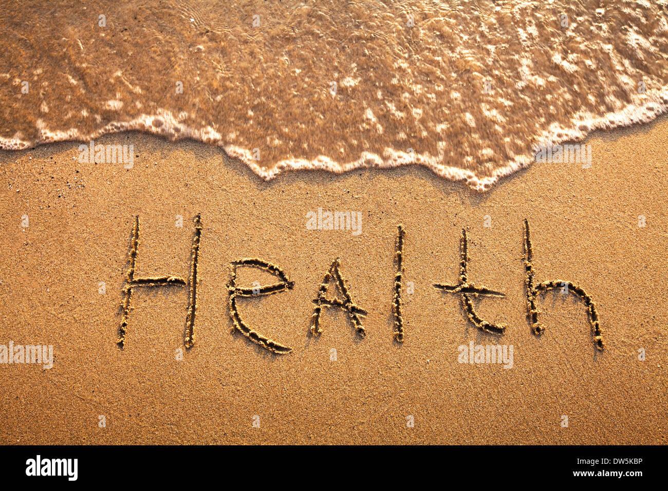 Concept santé Photo Stock