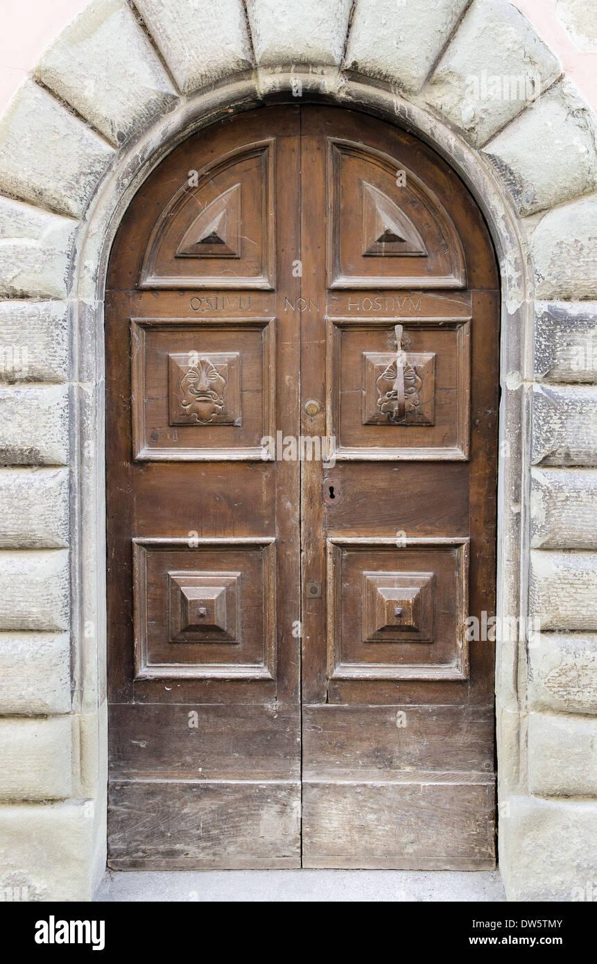 Vieux Portail En Bois porte, porte, bois, vieux, ancien, antique, portail, porte d